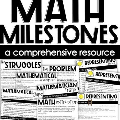 Math Milestones