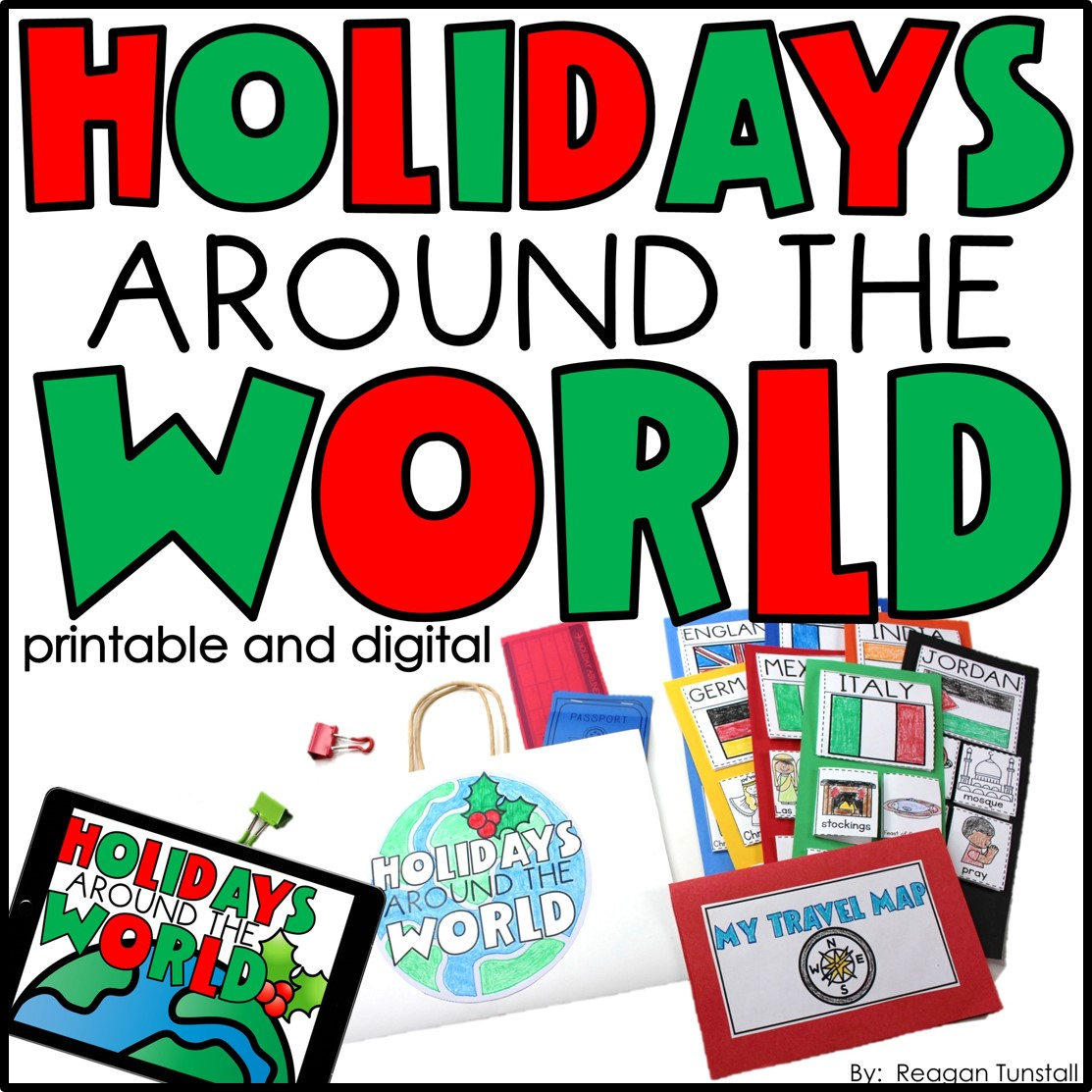 Holidays Around the World Printable and Digital
