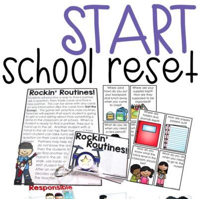 Start Fresh School Reset