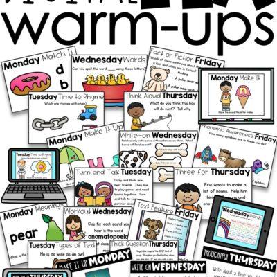 Digital Literacy Warm-Ups