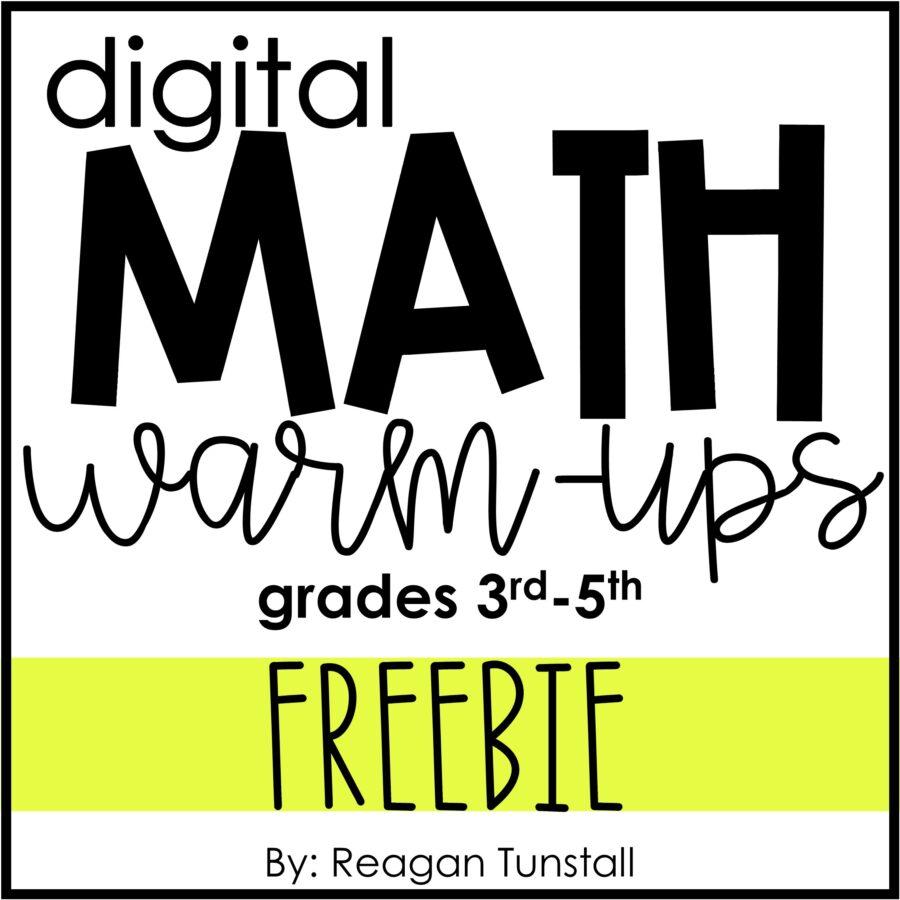 Digital Math Warm-Ups