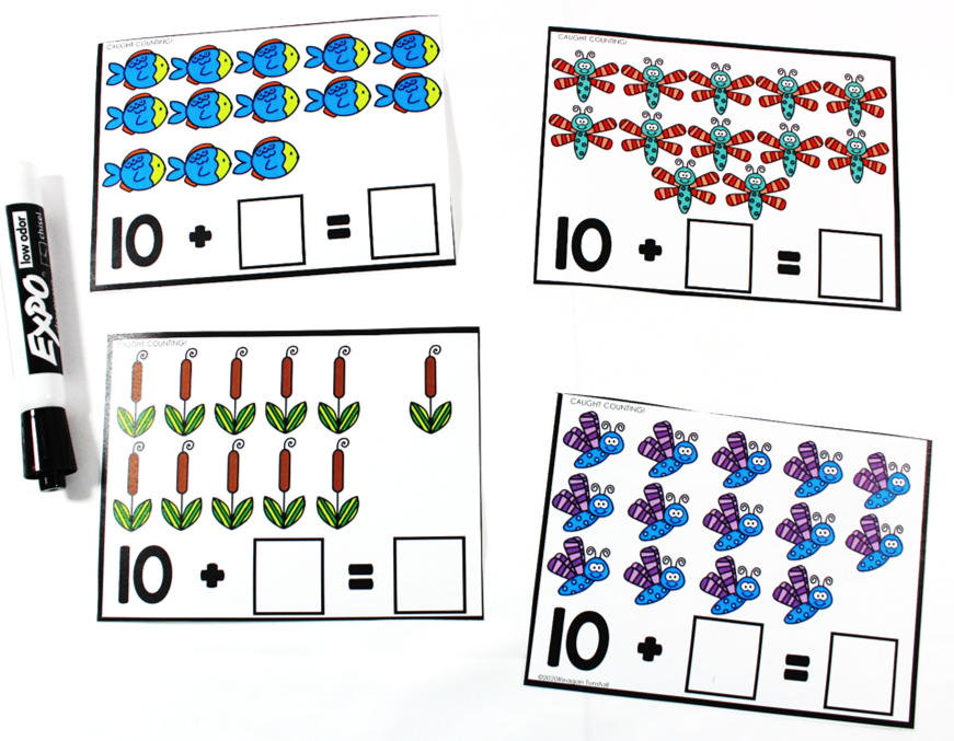 spring literacy and math workstations