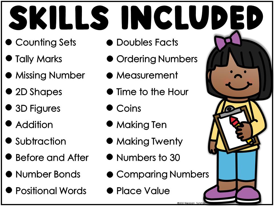 Math the Room Skills