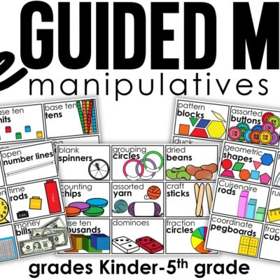 Guided Math Manipulatives