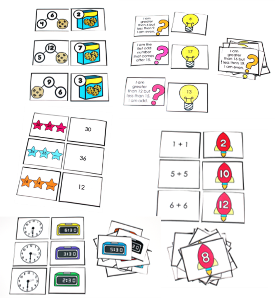 Mix and Match Math 10 Math Review Resources