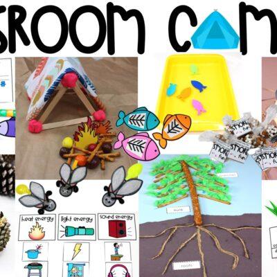Classroom Campout