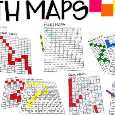 Math Maps Fluency Builders