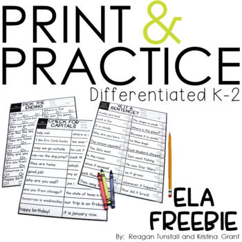 print and practice math and ela