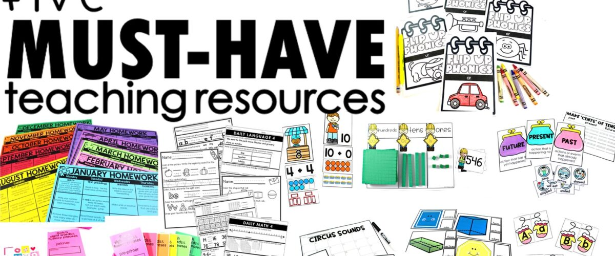 Five Must-Have Teaching Resources