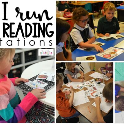 How I Run Guided Reading Workstations