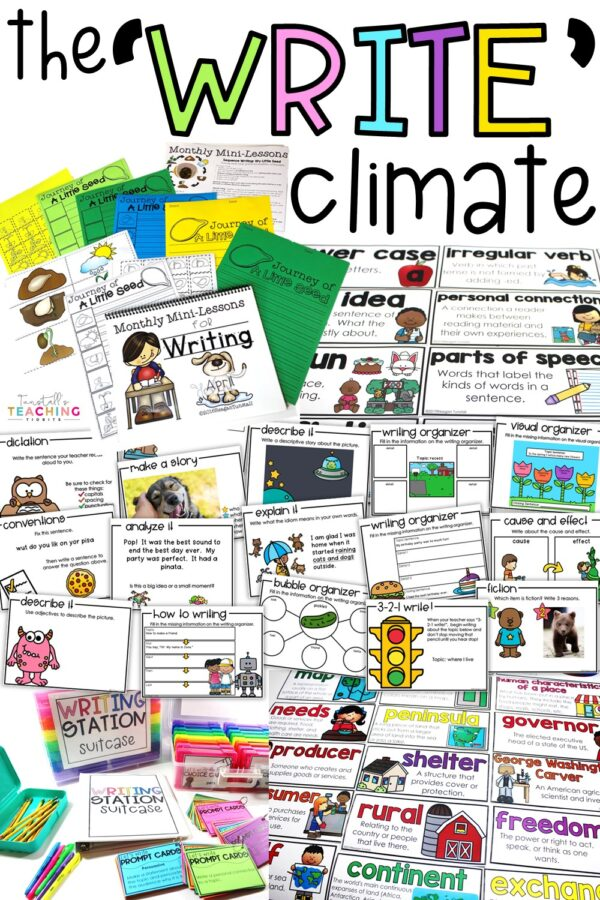 The Write Climate Writing Instruction and Workstations