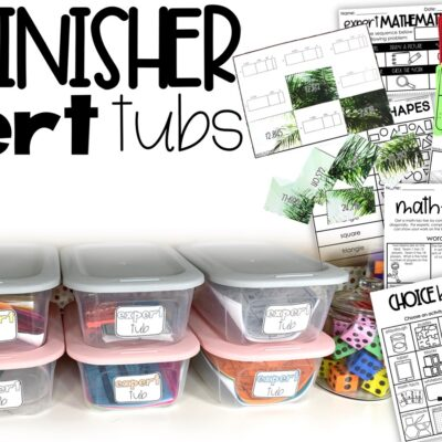 Fast Finisher Expert Tubs