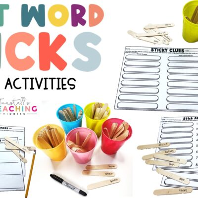 Sight Word Sticks