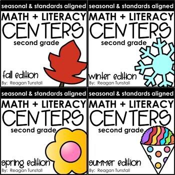 seasonal centers math and literacy