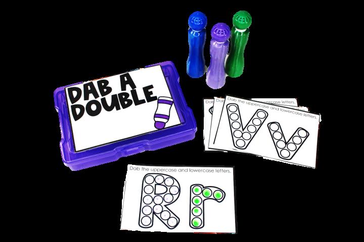 dab a double tub tasks