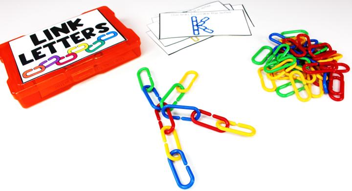 Link Letters Tub Tasks