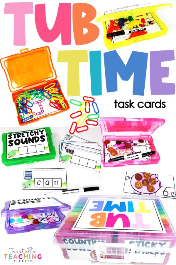 tub time task cards
