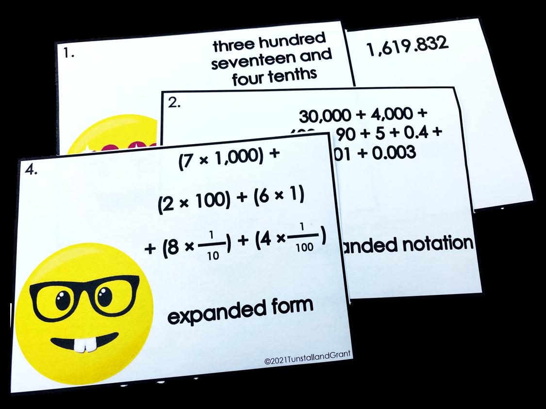 Math Workstations for Upper Grades